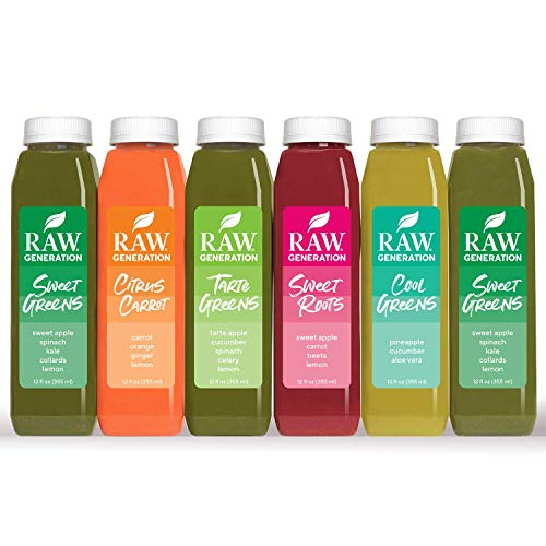 7-Day Skinny Cleanse by Raw Generation® - Best Juice Cleanse to Lose Weight Quickly/Healthiest Way to Cleanse & Detoxify Your Body/Jumpstart a Healthier Diet