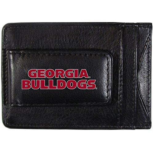 Siskiyou NCAA Georgia Bulldogs Logo Leather Cash and Cardholder, ()