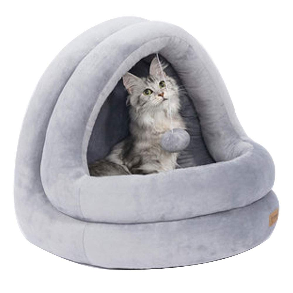 3 Cat Litter Winter Warm Seasons Universal Small Dog Net Red Dog Nest Semi-Closed Cat Supplies Large Pet Nest Four Seasons Universal Cats and Dogs (color   3)