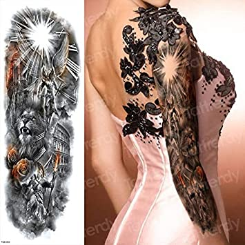4 UNIDADES, tatuaje temporal, etiqueta, brazo, mujeres, tatuaje ...