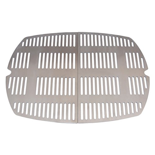 Stanbroil Outdoor Stainless Steel Casting Cooking Grates Fit Weber Q100 and Q1000 Series Grills by Stanbroil