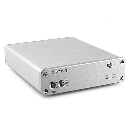 RELLENO TP-D20 24/96 Bit High-multifunción USB Decodificador Decodificador coaxial óptico