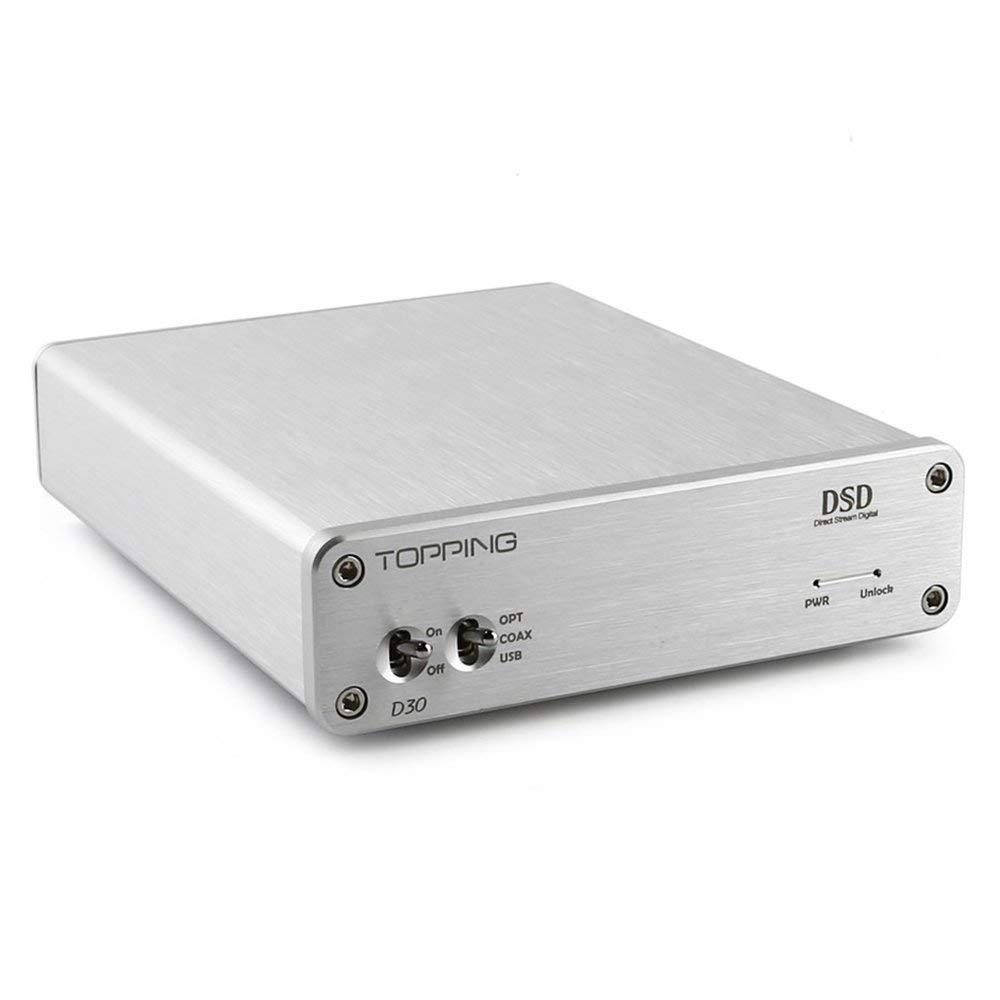 Topping HiFi Desktop Headphone Amplifier 3.5mm/6.35mm Headphone Output (D30)