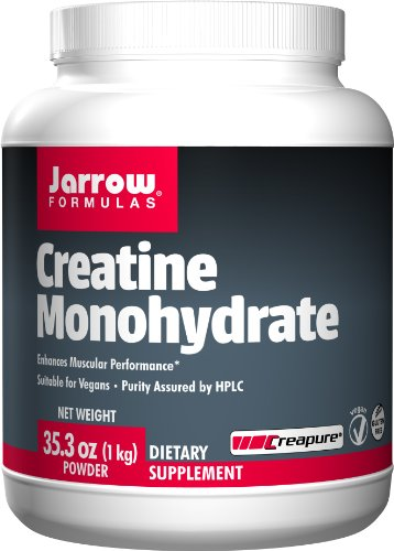 Jarrow Formulas Creatine Monohydrate Powder, Enhances Muscular Performance, 2.2 Pound