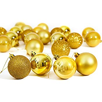 Christmas Ornaments Balls, RUIVAN Christmas Balls Bulk: Shatterproof  Christmas Tree Balls for Holiday Wedding - Amazon.com: Christmas Ornaments Balls, RUIVAN Christmas Balls Bulk
