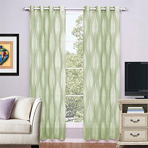 1 pares de cortinas de tela Doris Ventana Imprimir PUERTA DE CORTINA cortina de la ventana Panel Drape Cortinas para dormitorio/salón /home,hotel,Cafe ...