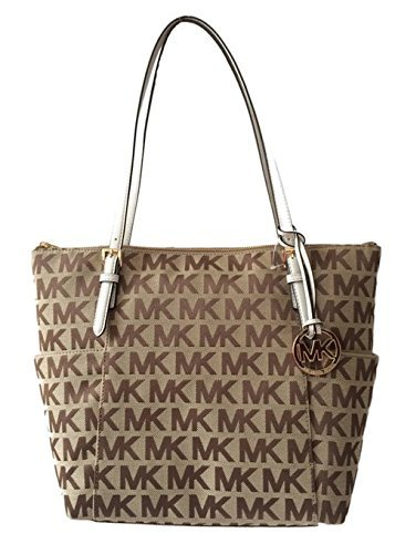 45318fd5b405 Image Unavailable. Image not available for. Color: Michael Kors Jet Set ...