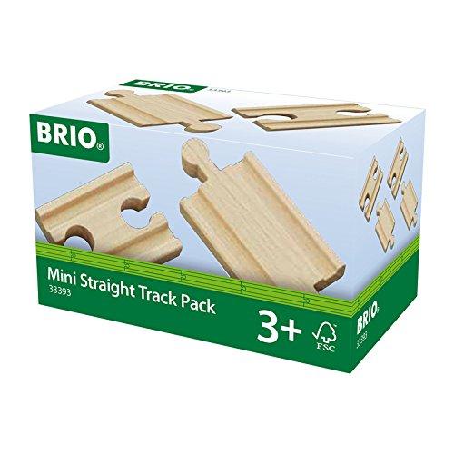 BRIO 33393 - 1/4 Ausgleichsschienen Mix, bunt