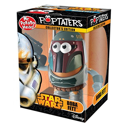 Mr. Potato Head Star Wars Poptaters Boba - Wars Fett Star Head