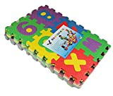Edealing 1 Set Mini Puzzle Kid Educational Toy Interlockin Alphabet Letters Numeral Foam Mat