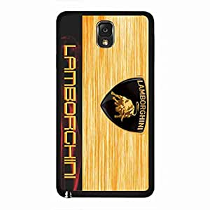 Hard Cover,Cover For Samsung Galaxy Note3,Lamborghini Logo Phone Cover,Lamborghini Phone Cover