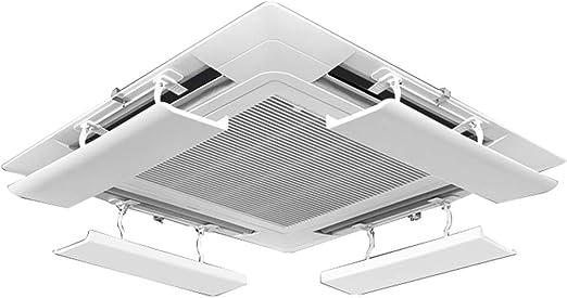 Aire Acondicionado Central Deflector De Aire Acondicionado,áNgulo MúLtiple/Evitar Golpe Directo/AnticondensacióN/CaíDa,Adecuado para Edificios De Oficinas En El Hogar(Pieza úNica): Amazon.es: Hogar