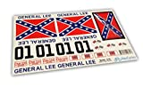 GENERAL LEE RC Car 1/16 16th Scale Duke of Hazzard Decals Stickers Full Kit Set Already Cut
