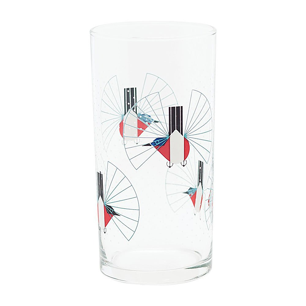 Charley Harper Wine Glasses Set of 6 by Todd Oldham by Fishs Eddy (Image #3)