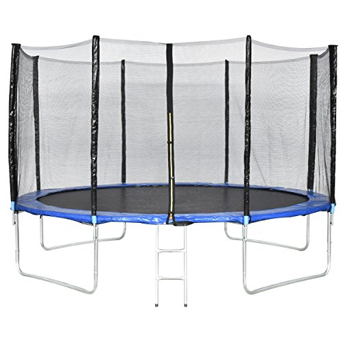 Giantex Trampoline Combo Bounce Jump Safety Enclosure Net W/Spring Pad Ladder (13 FT)