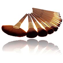 Beau Belle Makeup Brushes - Makeup Brush Set - Makeup Brushes Set - Professional Makeup Brushes - Make Up Brushes - Makeup Brush Set With Case - Makeup Brushes Set Professional by Belle Beau