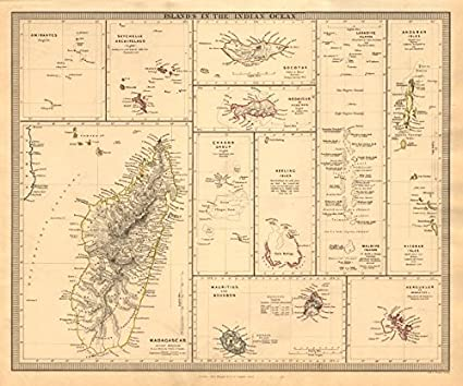 Carte seychelles amazon