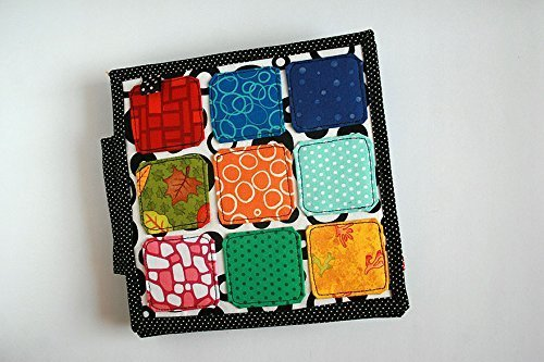 Book of colors Quiet book handmade by TomToy, 20x20cm, 6 colors-pages by TomToy