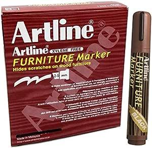 Artline EK-95 Furniture Marker, 2-5mm Pack of 12 (Black)