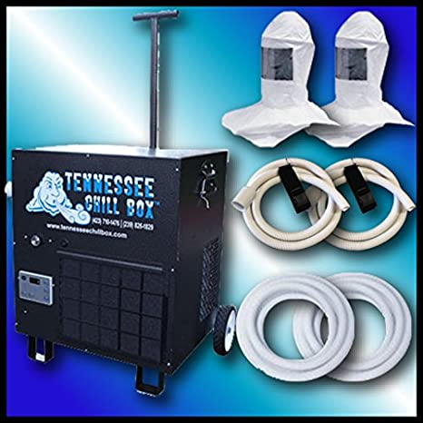 Tennessee Chill Box Air Conditioned Fresh Air System Double Worker 2 Tyvek Hoods, 200 Air Hose CB8000: Amazon.com: Industrial & Scientific