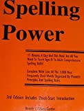 Spelling Power, Grades 3-12, Adams-Gordon, Beverly L., 188882719X
