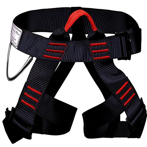 Climbing Harness, Smart Desired Outdoor Rescue Rock Climbing Rappelling Equip Women Man Child Half Body Guide Harness