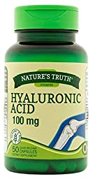 Nature\'s Truth Hyaluronic Acid 100 mg Capsules, 50 Count