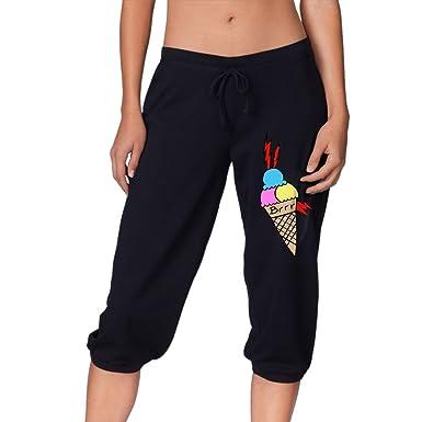 c1e28e1ae0fa26 Mane Ice Cream Tattoo Woman Capri Pant Pants Capri Legging at Amazon ...