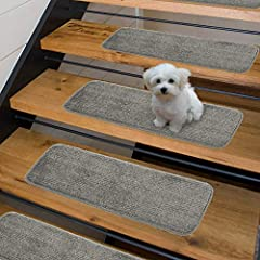 Let color, softness and style revamp your tired stairs and spaces into areas of intrigue With these slender stair treads and runner rugs. Sweet home stores luxury collection provides elegance and comfort while protecting your stairs and floor...