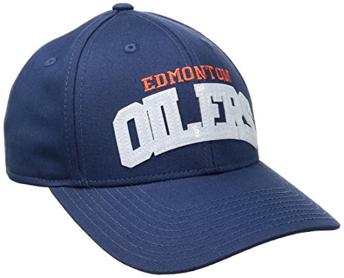 - NHL Edmonton Oilers Women's SP17 Sequenced Structured Adjustable Cap, Blue, One Size