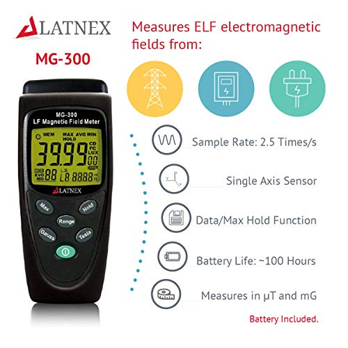 EMRSS MG-300 Magnetic Field Meter EMF