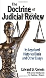 img - for The Doctrine of Judicial Review: Its Legal and Historical Basis and Other Essays book / textbook / text book