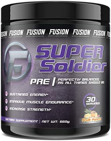 Fusion Sports Performance Super Soldier Pre Workout