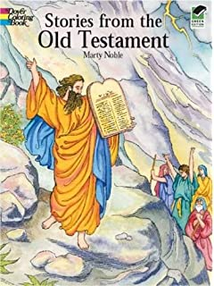 Stories From The Old Testament Dover Classic Coloring Book