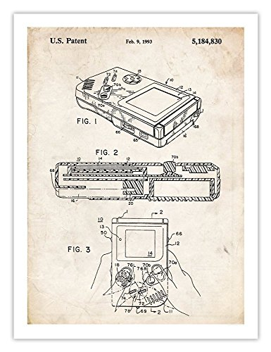 nintendo-game-boy-poster-1993-patent-art-print-handheld-video-game-gameboy-gift-18-by-24-inches-matt