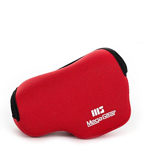 MegaGear MG839 Panasonic Lumix DC-LX100 II, DMC-LX100 Ultra Light Neoprene Camera Case - Red