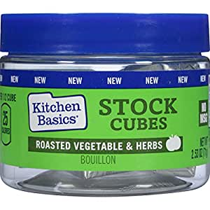Kitchen Basics Roasted Vegetable and Herbs Stock Cubes, 2.53 Ounce (Pack of 6)