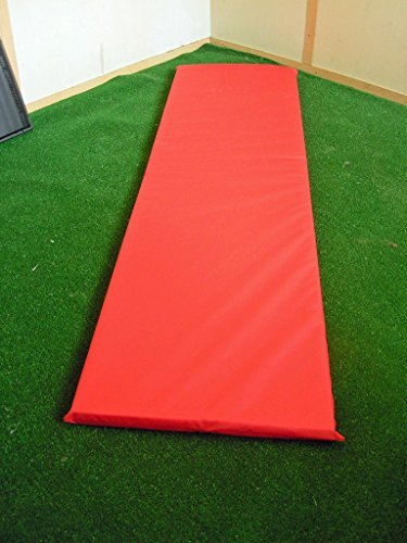 KosiPad Luxury Memory Foam Waterproof Replacement Cushion Pad For Garden Sun Lounger / Recliner / Chair (Hot Red)