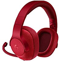 Logitech G433 7.1 Wired Gaming Headset with DTS Headphone: X 7.1 Surround for PC, PS4, PS4 PRO, Xbox One, Xbox One S, Nintendo Switch – Red(Certified Refurbished)