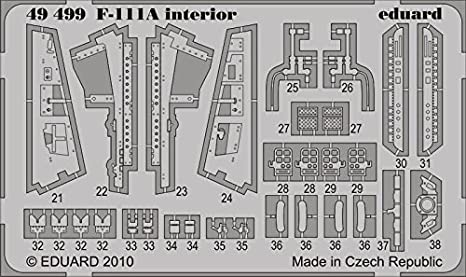Amazon.com: 1/48 Aircraft- F111A Interior for HBO (Painted Self ...
