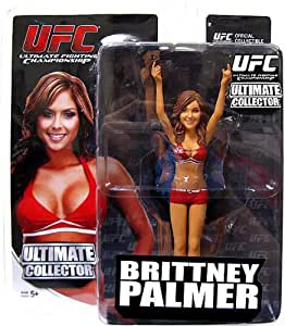 Round 5 UFC Ultimate Collector Series 11 Action Figure Brittany Palmer {RED Outfit} [UFC Edition]