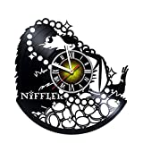 Cheap Fantastic Beasts Niffler – Design Vinyl Record Wall Clock – Get unique bedroom wall decor – Gift ideas for teens, boys and girls – Fantasy Unique Art Design – Perfect present for birthday