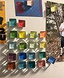 Mymazn 24 Color Magnets for Fridge Refrigerator