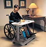 Generic NV_1008003098_YC-US2 Chair Ta Over Wheelchair Adju Overbed Hospital Table e Ove Tray Rolling elcha Bed Adjustable ay Ro Medical Chair Overbed