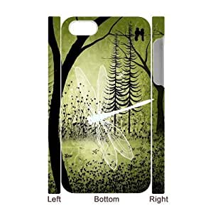 Beautiful Dragonfly DIY 3D Cover Case for Iphone 4,4S,personalized phone case ygtg-310554