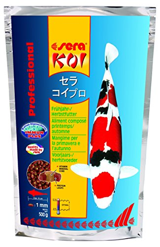 sera 7011 KOI Professional Spring/Autumn 1.1 lb 500g Pet Food, One size - Autumn Pond Food