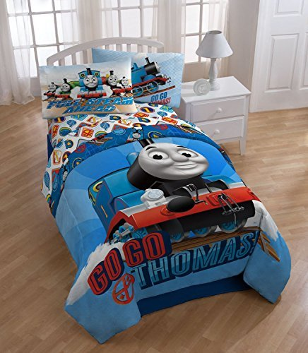 Exceptionnel Amazon.com: Thomas The Train U0027Go Go Thomasu0027 Twin Size Comforter: Home U0026  Kitchen