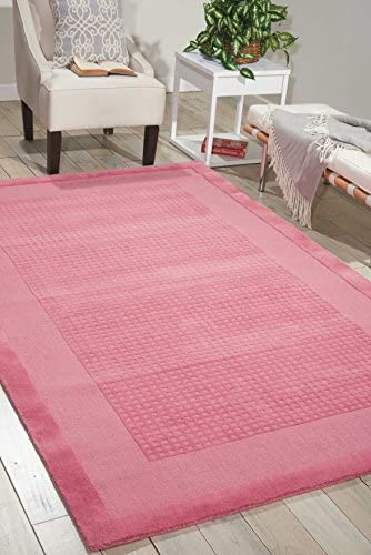 Nourison Westport Pink Rectangle Area Rug