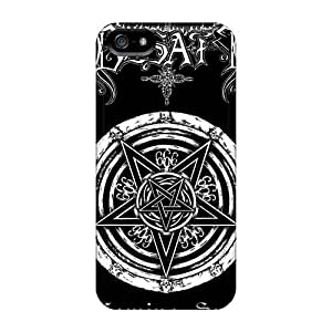 Protector Hard Cell-phone Cases For Iphone 5/5s With Unique Design Fashion Dimmu Borgir Band Pictures KevinCormack