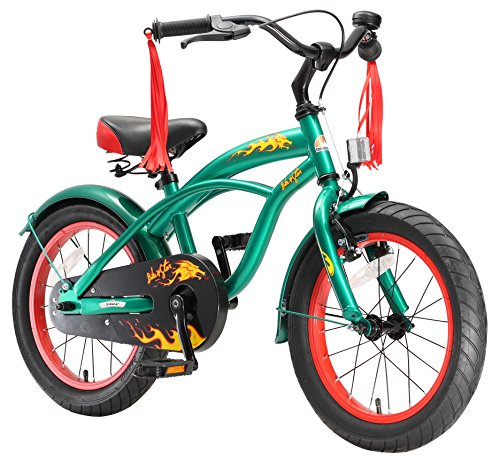 Bikestar 16 Inch  Kids Childrens Bike Bicycle - Cruiser - Gr